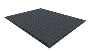 13ft x 16ft Dark Grey Floor