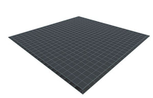 22ft x 22ft Dark Grey Floor