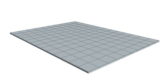 10ft x 13ft Light Grey Floor