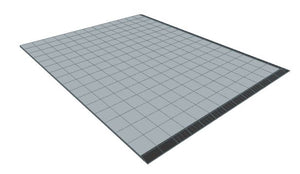 13ft x 16ft Light Grey Floor