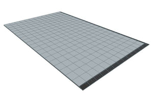 13ft x 20ft Light Grey Floor