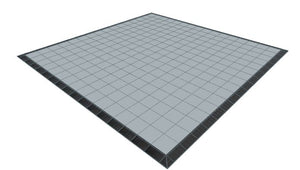 16ft x 16ft Light Grey Floor