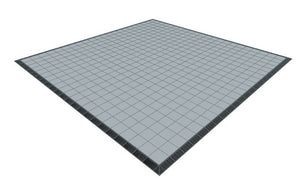 22ft x 22ft Light Grey Floor