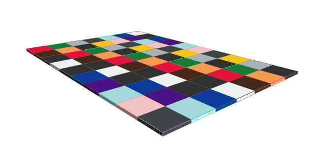 7ft x 10ft Various Colours Floor