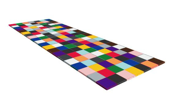 7ft x 20ft Various Colours Floor