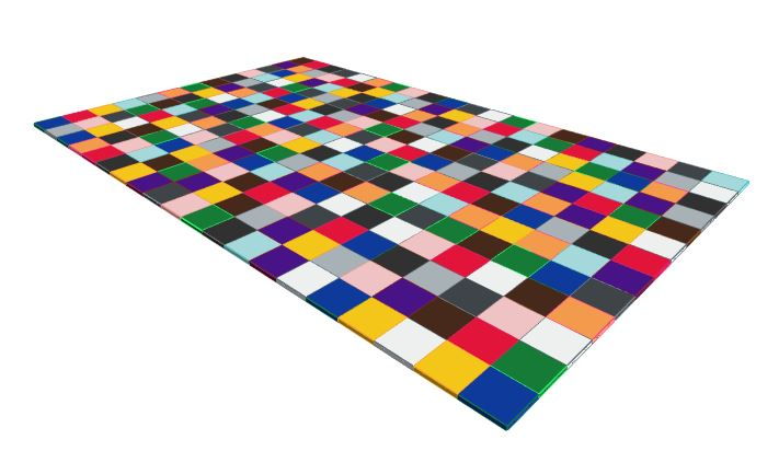 13ft x 20ft Various Colours Floor
