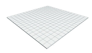 16ft x 16ft White Floor