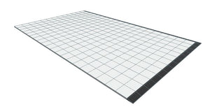 13ft x 20ft White Floor
