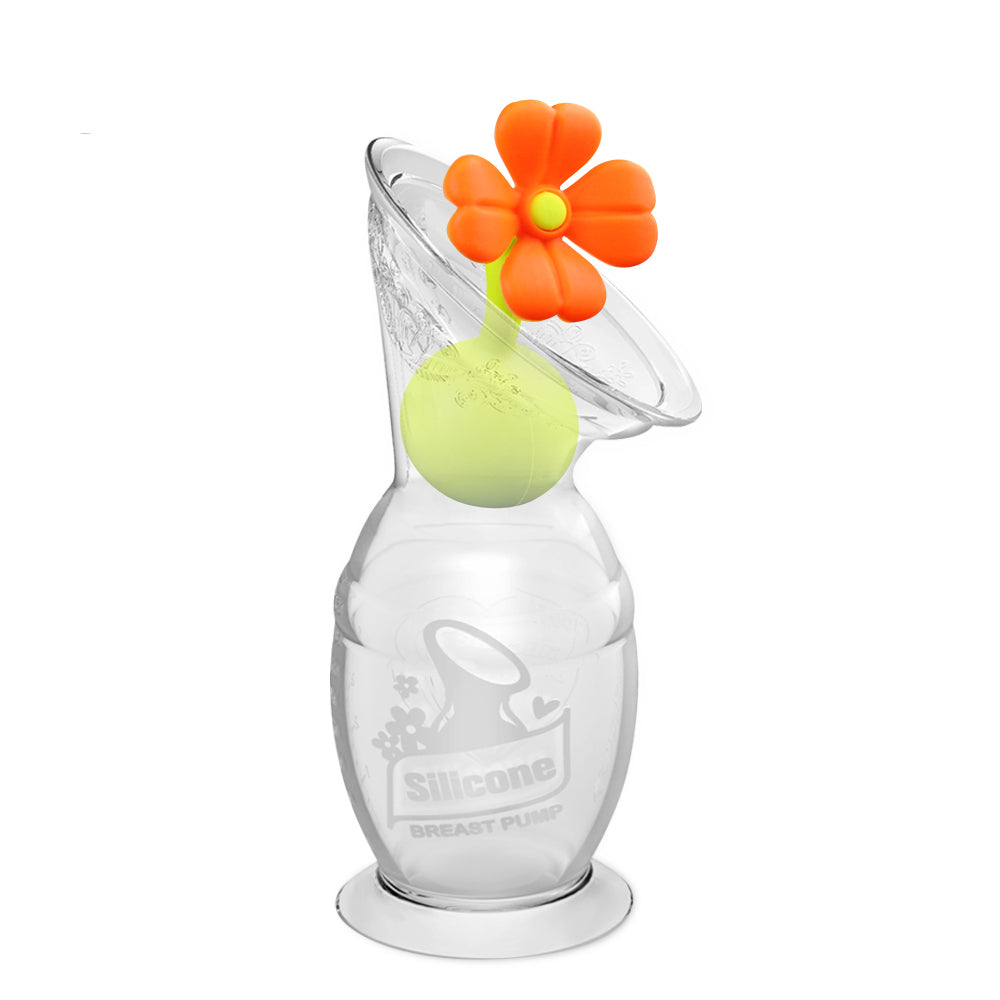 Silicone Pump + Flower Stopper - 150ml pump