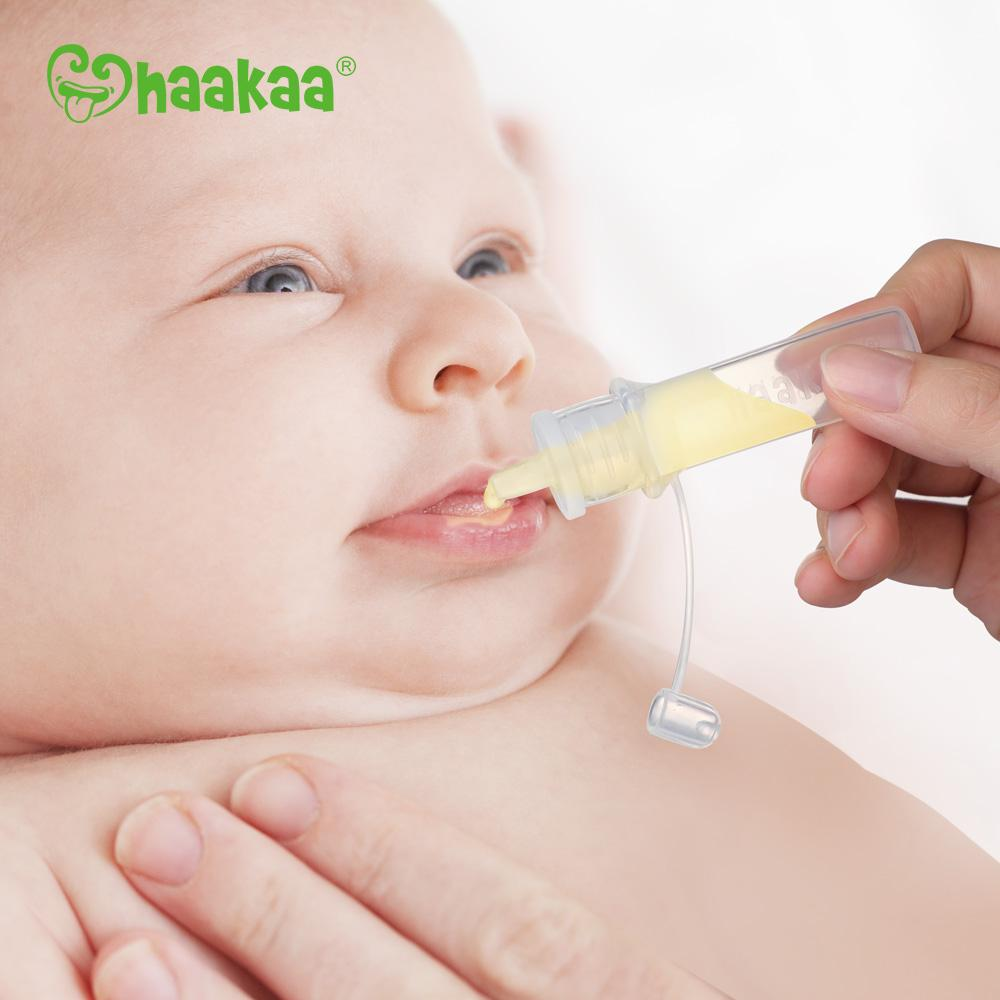 Silicone Colostrum Collector Set Haakaa | Award Winning Silicone Breast Pump + Eco Friendly Products