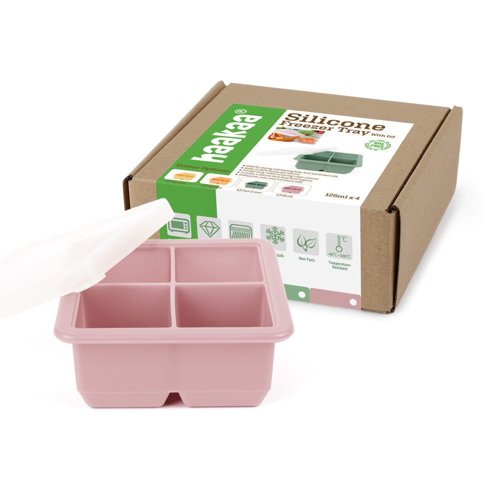 Baby Food and Milk Freezer Tray - 4 Cup
