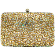 Gold and Silver Evening Clutch Bag - GLAM CONFIDENTIAL