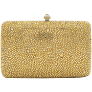 Classic Rose Gold Crystal Clutch Bag-GCB3013