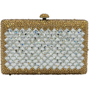 """Addagio"" Fashionable rectangular Bijou Clutch-GCB3023 - GLAM CONFIDENTIAL"