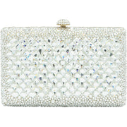 """Addagio"" Show Stopper rectangular Bijou Clutch-GCB3024 - GLAM CONFIDENTIAL"