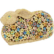 Gold Bunny Crystal Clutch Bag-GCB5020