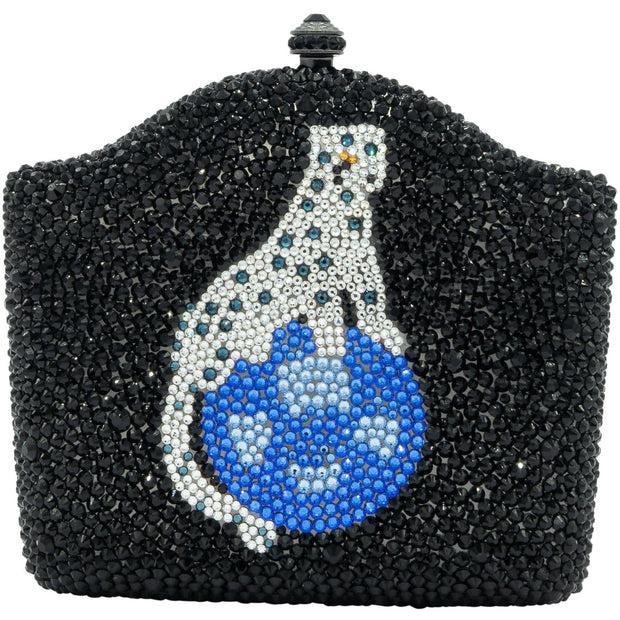 Panther Swarovski Elements Clutch Bag