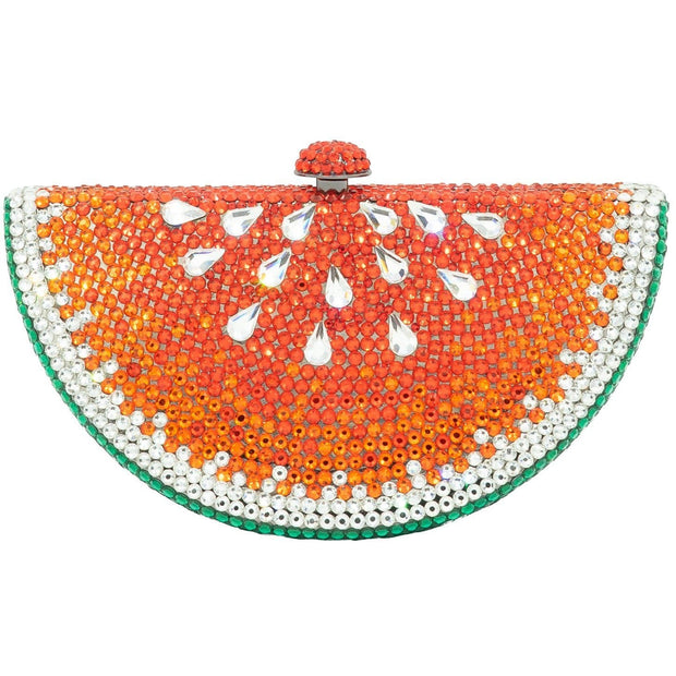 Watermelon Slice Shaped Green And Red Clutch Bag - GLAM CONFIDENTIAL