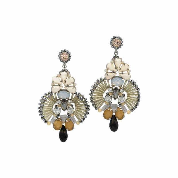Boho-Chic Chandelier Earrings