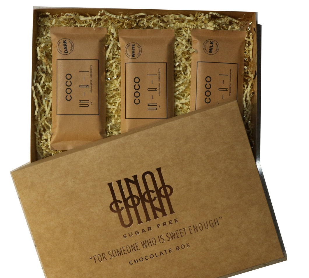 giftset sugar-free chocolate