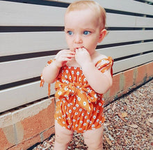 Load image into Gallery viewer, Jemima Bowknot Romper