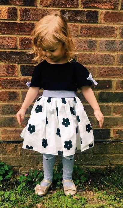 Black Floral Madness 2 Piece Set