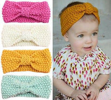 Load image into Gallery viewer, Crochet Knit Headpiece