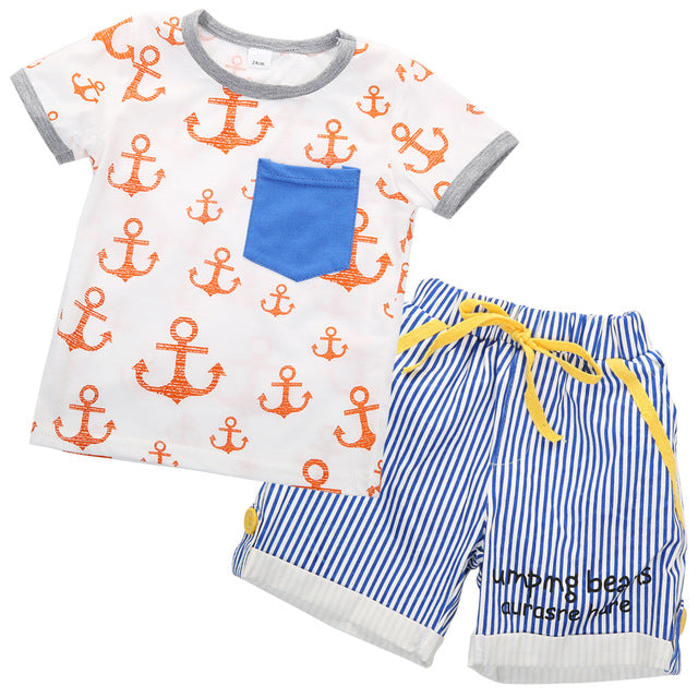 Anchor's Away 2 Piece Set - Infantnatic