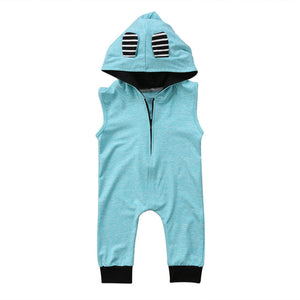 Von Zipper Hooded Jumpsuit