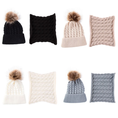 All About Parker Lane Beanie and Neck Warmer Set