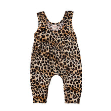Load image into Gallery viewer, Britney Leopard Romper