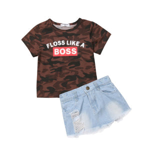 Floss Like A Boss 2 Piece Set