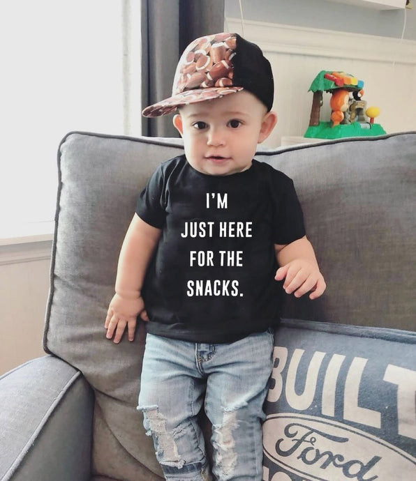 I'm Just Here For The Snacks Shirt