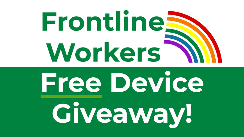 Frontline Worker Giveaway - Applications are now closed