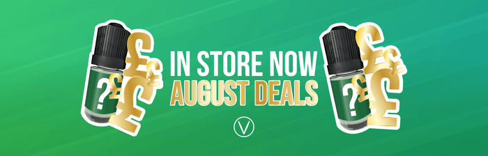August In-Store E-Cigarette Deals