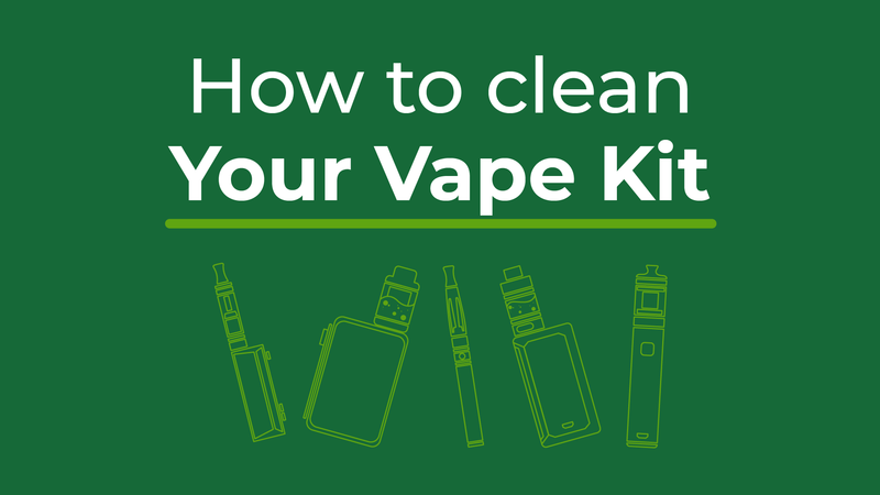 How to clean your vape kit