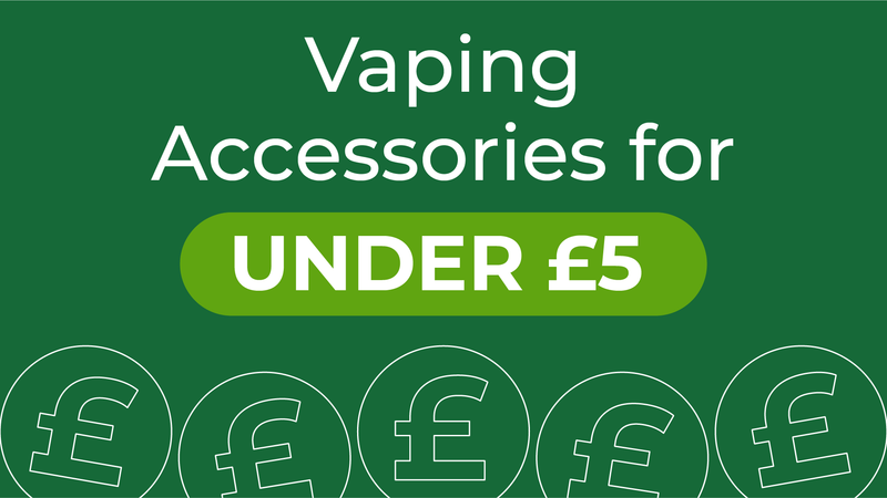 Vaping accessories for under £5