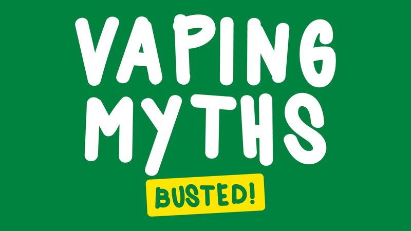 VPZ Vaping myths busted
