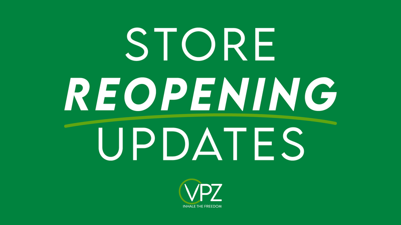 VPZ Stores Re-Opening in England and Wales