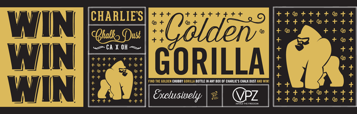 Golden Gorilla Vape Competition only at VPZ