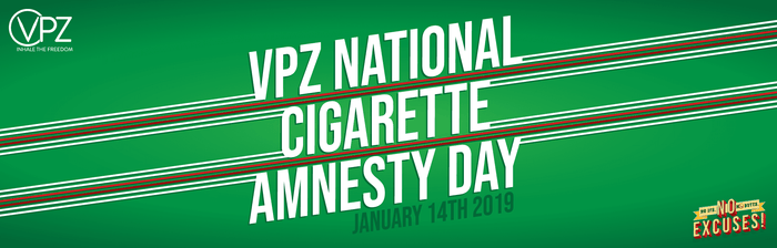 VPZ Cigarette Amnesty