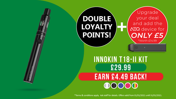VPZ Innokin T18-II Vape Kit Deal