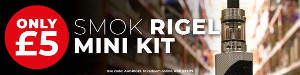 VPZ Exclusive August Deals SMOK Rigel Mini Kit Only £5