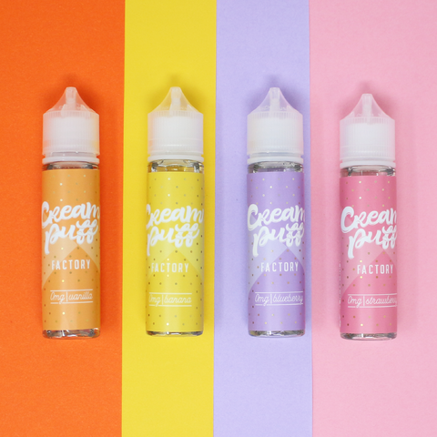 Cream Puff Shortfill E-liquid