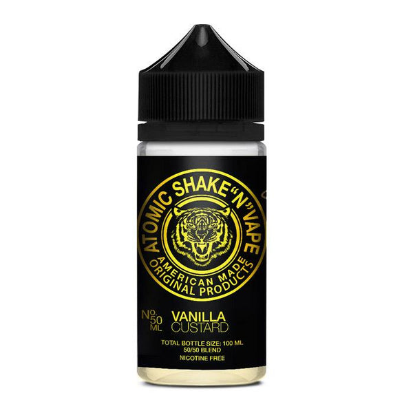 Atomic Shake N Vape - Vanilla Custard Shortfill E-liquid (50ml) - Shortfills - Atomic Shake N Vape at VPZ | Vape E-Liquids, Kits and Coils
