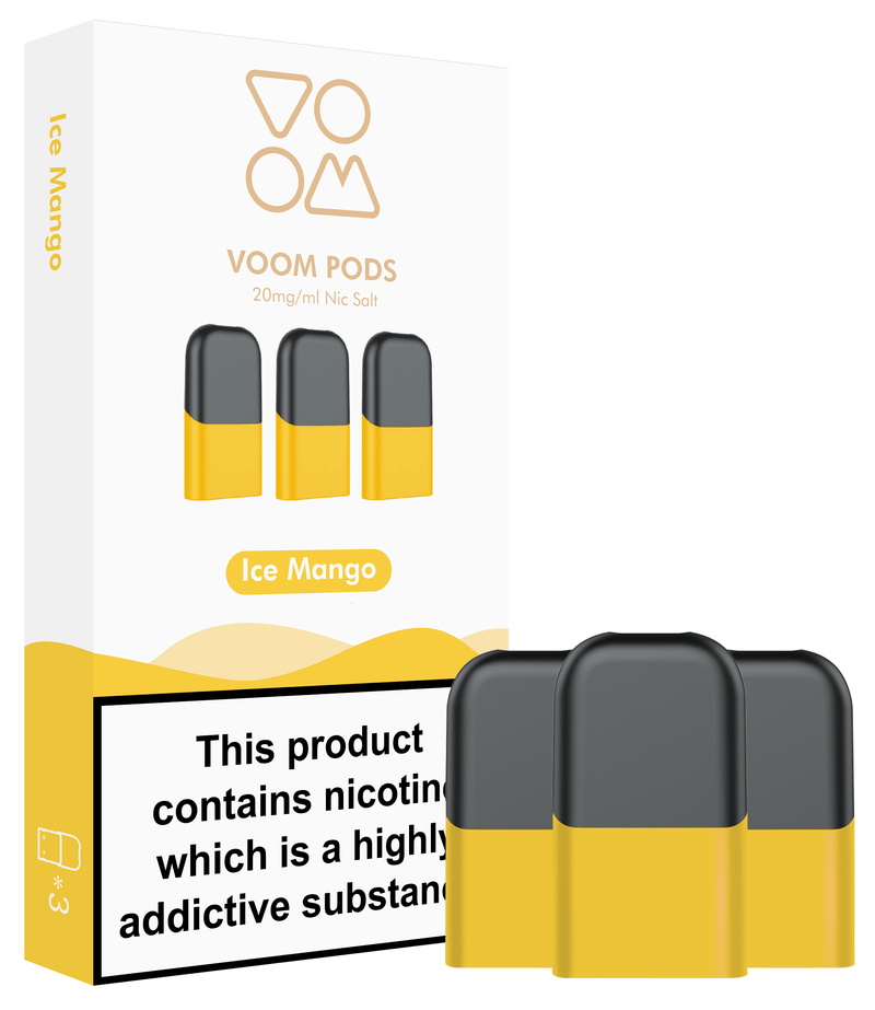 Voom Flavour Pods - Ice Mango (20mg) - VPZ | Vape E-Liquids, Kits and Coils