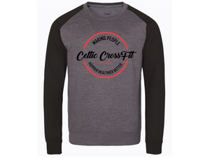 Celtic CrossFit | Unisex Sweatshirt | Black/Charcoal