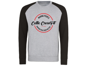 Celtic CrossFit | Unisex Sweatshirt | Black/Grey