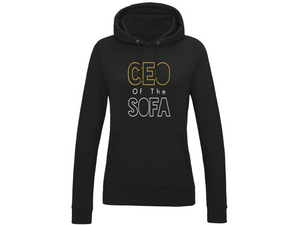 Sofa CEO | Women's Hoody | Black