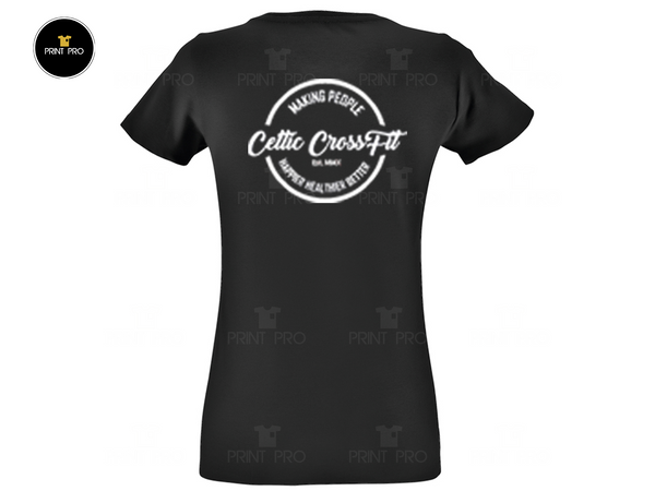 WOMEN'S Black T-shirt *